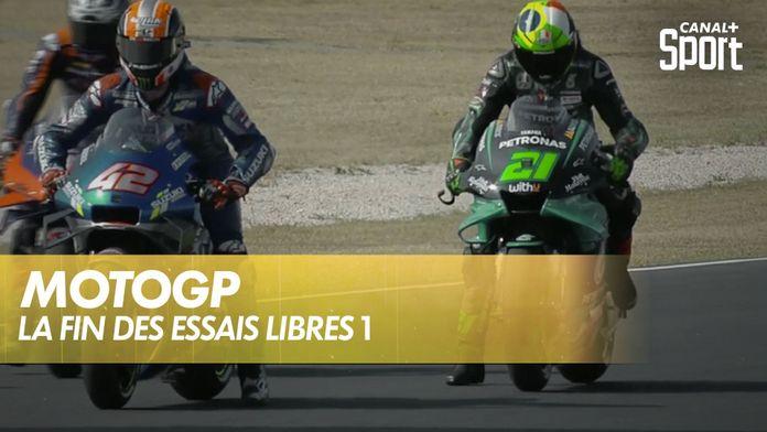 La fin de essais libres 1 : MotoGP