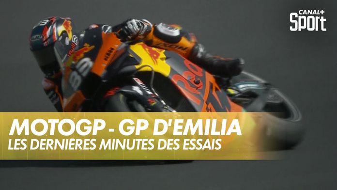Les dernières minutes des essais libres : MotoGP
