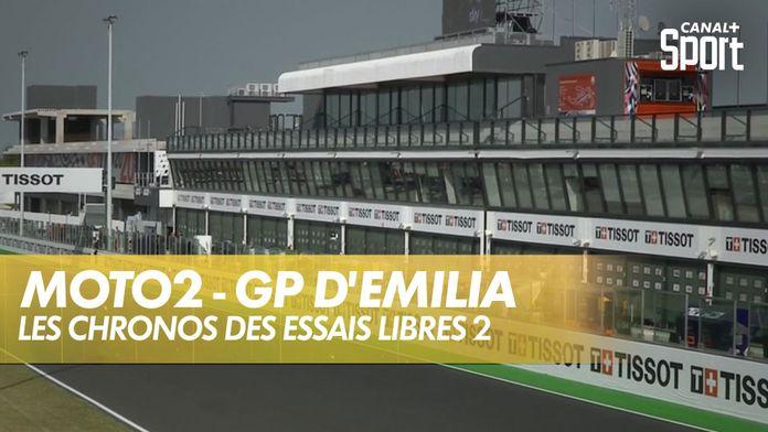 Les chronos des essais libres : Moto2