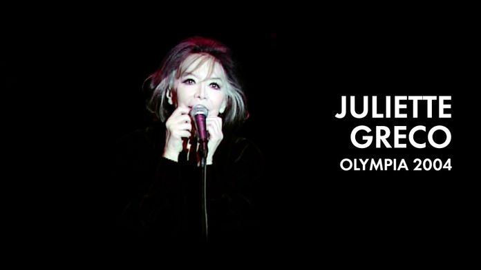 Juliette Gréco : Olympia 2004