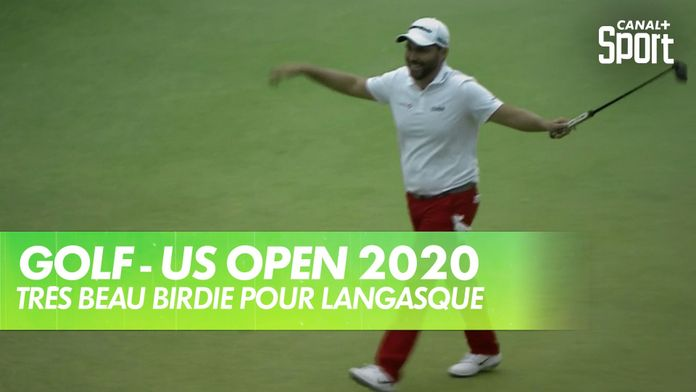 La ficelle de Romain Langasque ! : US Open