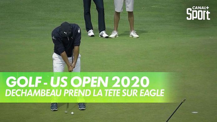 Eagle pour DeChambeau qui prend la tête ! - US Open 2020 : US Open