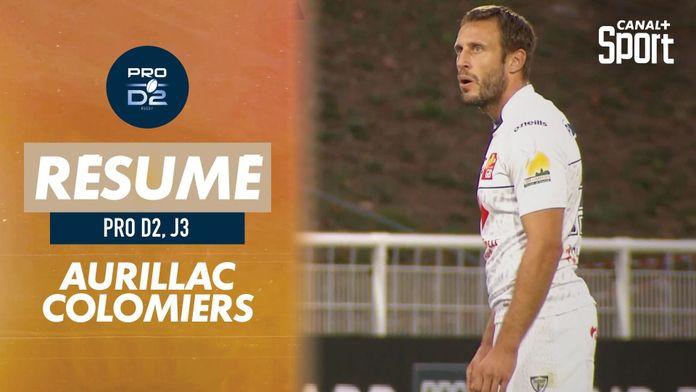 Le résumé de Aurillac / Colomiers : Pro D2