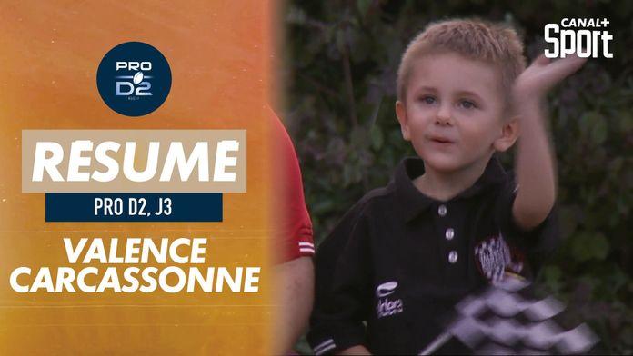 Le résumé de Valence Romans / Carcassonne : Pro D2