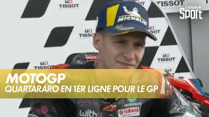 Fabio Quartararo en premiere ligne pour le GP d'Émilie-Romagne : MotoGP