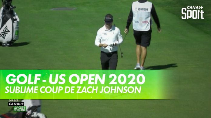 Sublime coup de Zach Johnson : US Open 2020