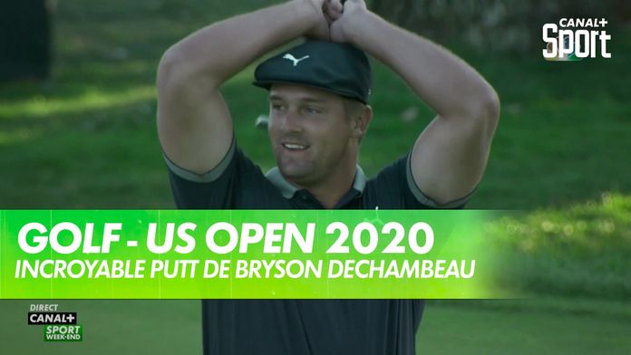 Incroyable putt de Bryson DeChambeau : US Open
