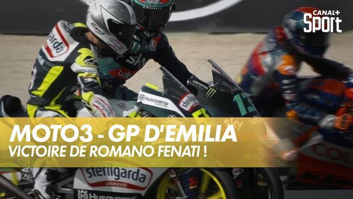 Victoire de Romano Fenati ! : Moto3