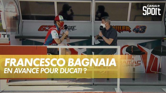 Entretien avec Francesco Bagnaia : MotoGP