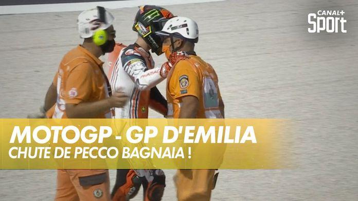 Chute de Pecco Bagnaia ! : MotoGP