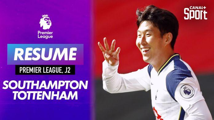 Le résumé de Southampton - Tottenham en VO : Premier League
