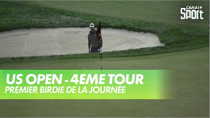 Premier birdie de la journée pour English : US Open - 4eme tour