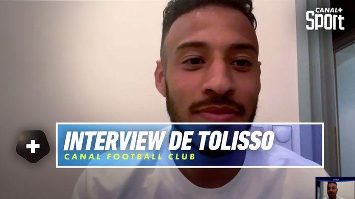 """Interview de Corentin Tolisso : """"l'objectif c'est d'aller chercher l'Euro !"""" : Canal Football Club"""