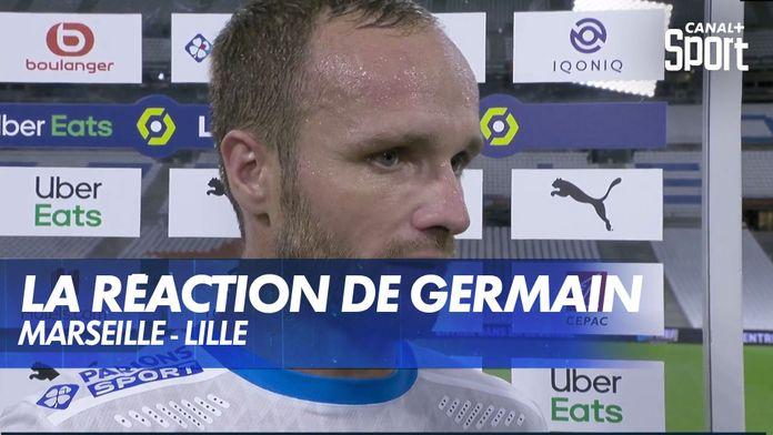 """Valère Germain après Marseille - Lille : """"Au niveau de la qualité du jeu on a été inexistants"""""""