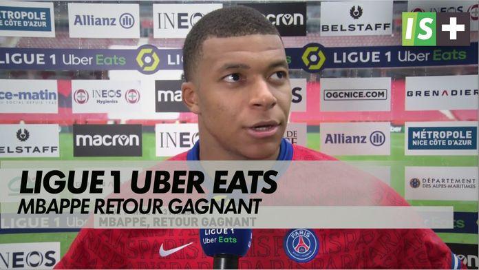 MBappe, retour gagnant : Ligue 1 Uber Eats