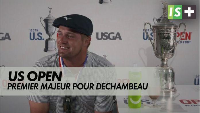 Premier majeur pour Bryson DeChambeau : US Open