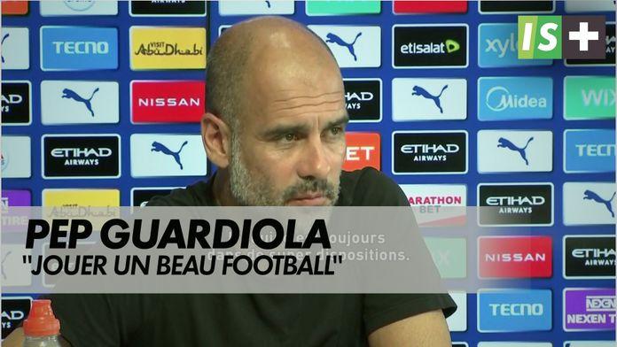 """Guardiola : """"jouer un beau football"""" : Premier League - 2ème journée"""