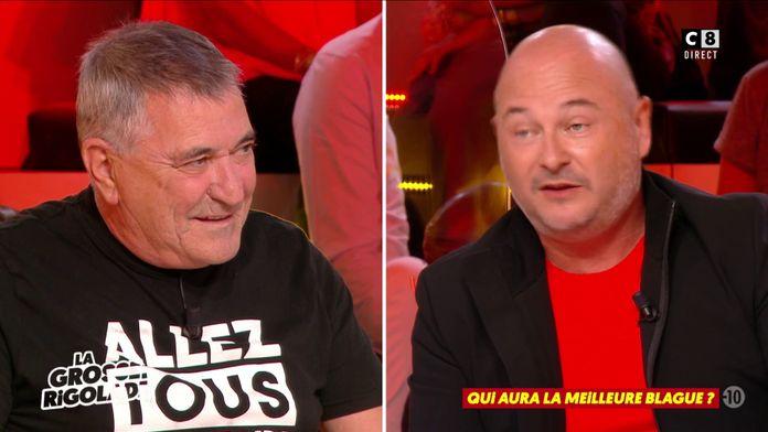 Cauet imite Jean-Marie Bigard en racontant une blague dans LGR !