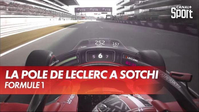 La pole de Charles Leclerc à Sotchi 2019 en Onboard : Formule 1