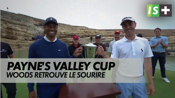 Woods retrouve le sourire : Payne's Valley Cup