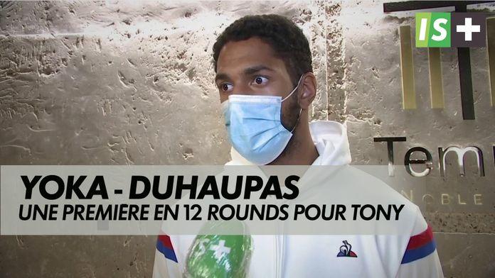 Yoka, une première en  12 rounds : Yoka Vs Duhaupas