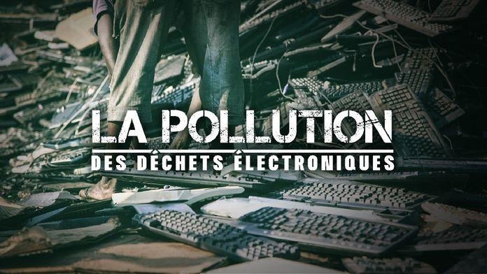 La pollution des déchets électroniques