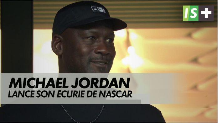 Michael Jordan lance son écurie de Nascar : Nascar