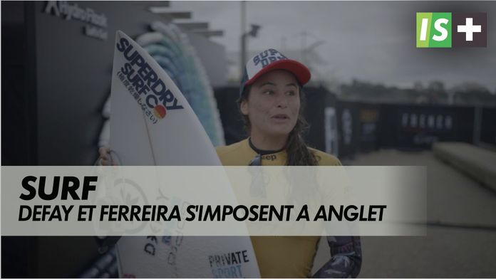 Defay et Ferreira s'imposent à Anglet : French rendez-vous of surfing