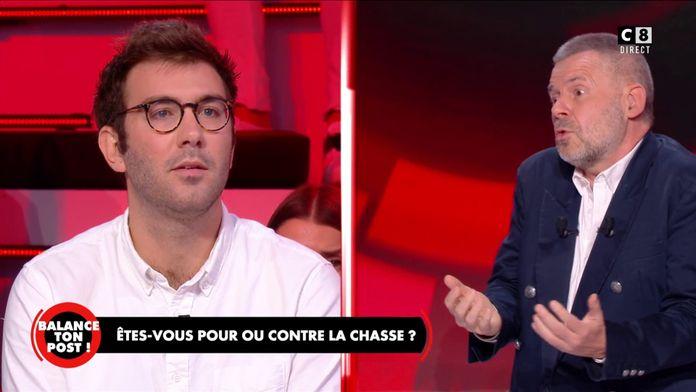 """Eric Naulleau à Paul Ponsar, chasseur : """"La chasse à courre me révolte !"""""""