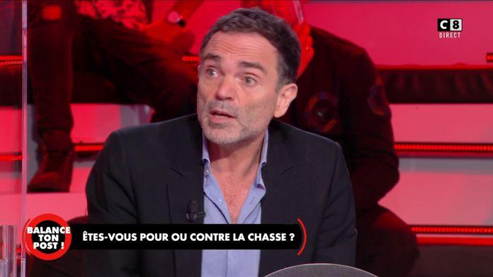 """Yann Moix au sujet de la chasse : """"La chasse à courre est une barbarie d'un autre âge !"""""""