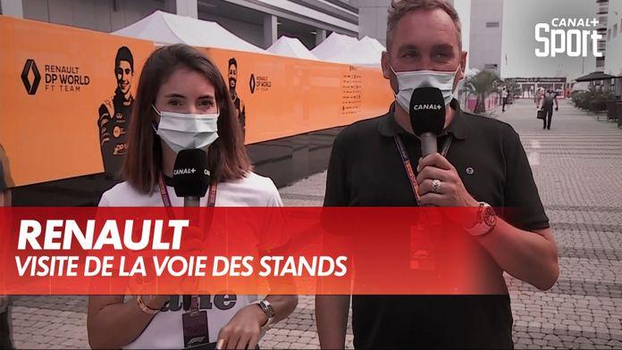 Aperçu des modifications de la Renault : Grand Prix de Toscane