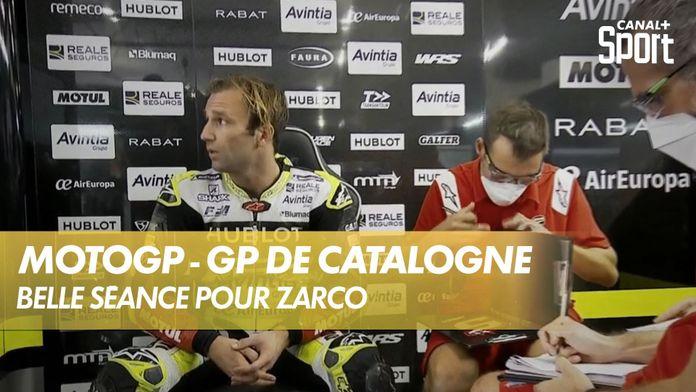 Johann Zarco prend le deuxième chrono ! : MotoGP