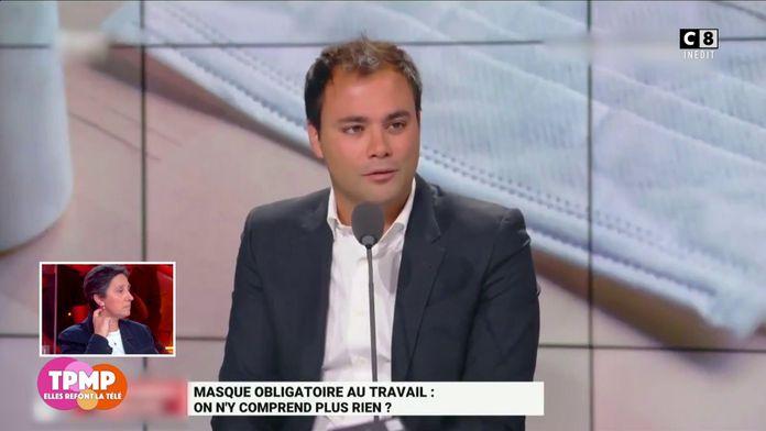 Port du masque : Charles Consigny pousse un coup de gueule contre Jean Castex