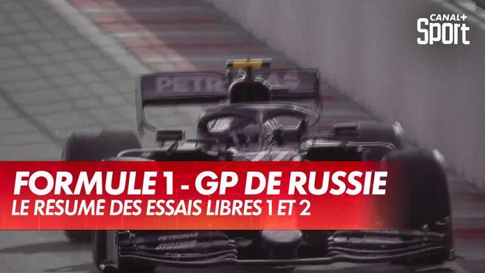 F1 - Résumé des essais libres 1 et 2 en Russie