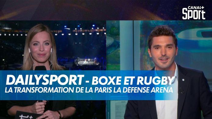 De la Boxe au Rugby : Transformation de la Paris La Défense Arena