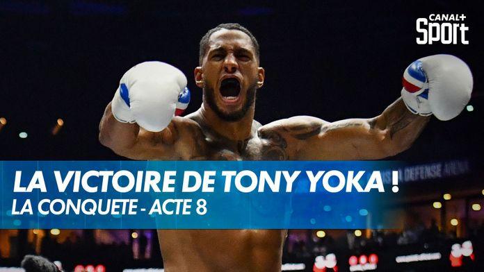 La victoire par KO de Tony Yoka face à Johann Duhaupas ! : Yoka - Duhaupas