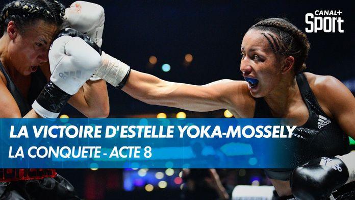 Retour sur les rings réussi pour Estelle Yoka-Mossely ! : Yoka - Duhaupas