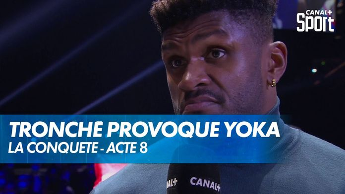 Raphaël Tronché provoque Tony Yoka après son combat : Yoka - Duhaupas
