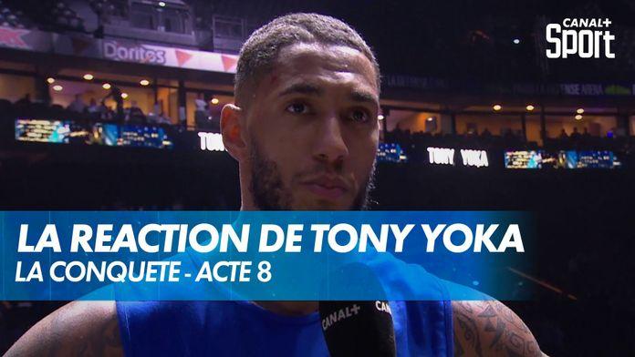 """Tony Yoka : """"Je voulais commencer le combat très fort contre Johann"""" : Yoka - Duhaupas"""