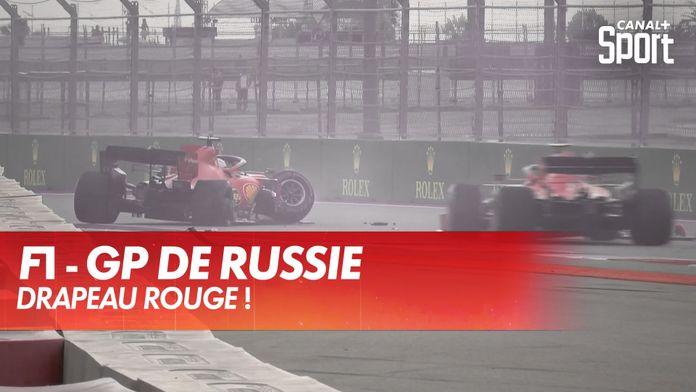 Sortie de piste de Vettel, drapeau rouge ! : Grand Prix de Russie