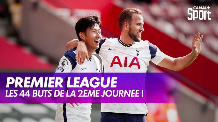 Les 44 buts marqués lors de la 2ème journée : Premier League