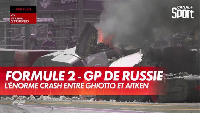 L'énorme crash qui a marqué la course de F2 de ce dimanche : Grand Prix de Russie