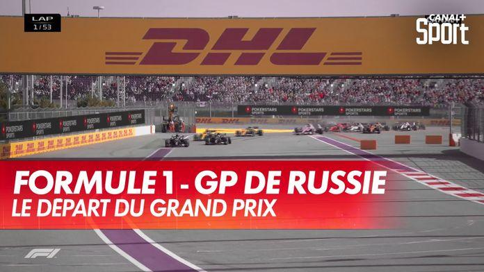 Le départ du GP de Russie : Grand Prix de Toscane