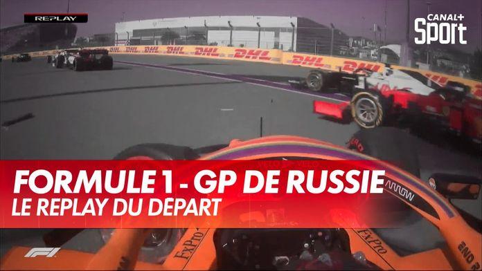 Le replay du départ du GP de Russie : Grand Prix de Russie