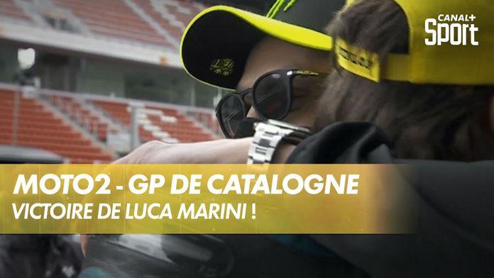 Les interviews de fin de course : Moto2
