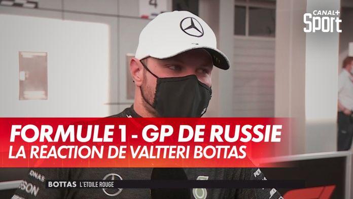 La réaction de Valtteri Bottas après le GP de Russie : Grand Prix de Russie
