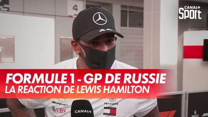 La réaction de Lewis Hamilton après le GP de Russie : Grand Prix de Russie