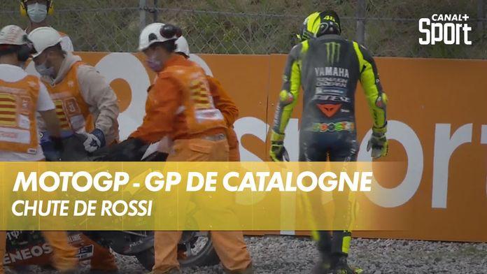 Chute de Valentino Rossi : MotoGP