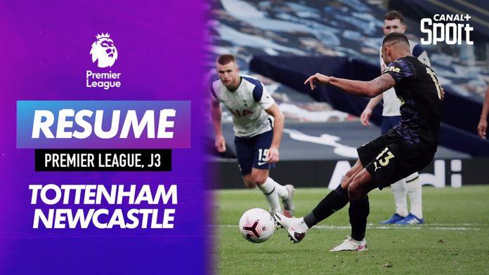 Le résumé de Tottenham - Newcastle J3 : Premier League