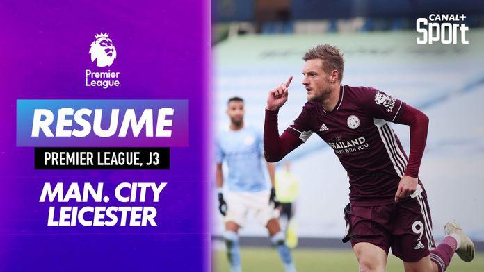 Le résumé de Manchester City / Leicester en VO : Premier League
